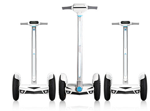 The Airwheel S3 as a self-balancing electric scooter can be both a handy transporter and an awesome workout gear. It frees people from boring commute routines and unhealthy lifestyles.