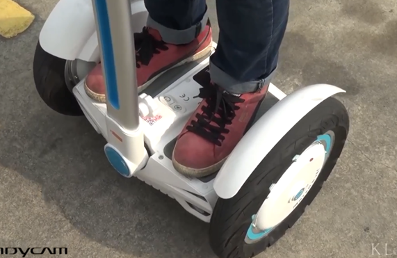The Airwheel S3 as a type of self-balancing electric scooter produced by Airwheel Technology, is lighter and smaller than its competitors. It's designed to learn with minimum effort and ride with maximum safety.