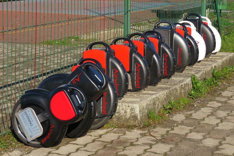 Airwheel, самостоятельно баланс одноколесном велосипеде, 2-колесный электрический скутер