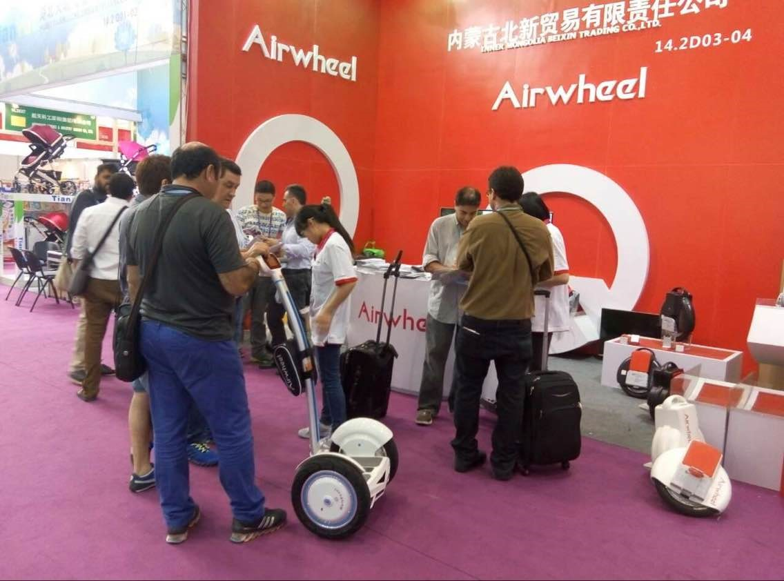 Airwheel Won Great Attention at Canton Fair 2015
