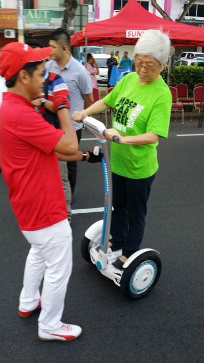 Airwheel S3, Self-Balancing 2 wheels scooters