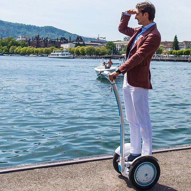 Airwheel S3 Intelligent Electric Self-balancing Show its Science and Technology