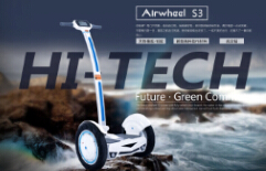 Airwheel S3, Another Intelligent Self-Balancing Scooter From Airwheel