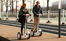 Airwheel S3 2-wheeled Intelligent Scooter, Travel Smart, Travel Green.