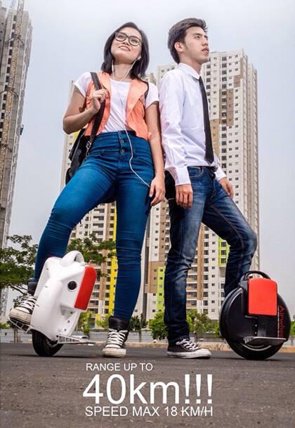Airwheel auto-equilíbrio scooter elétrico