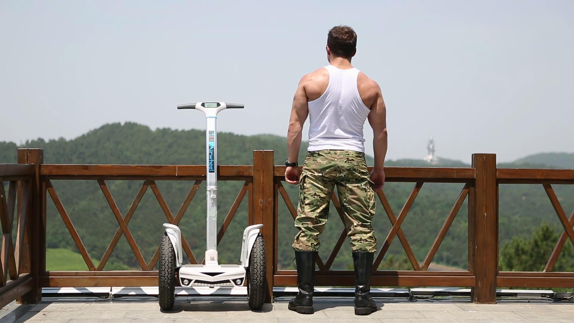 Airwheel Self-balancing Electric Scooter S5, the Vehicle to Happy Life