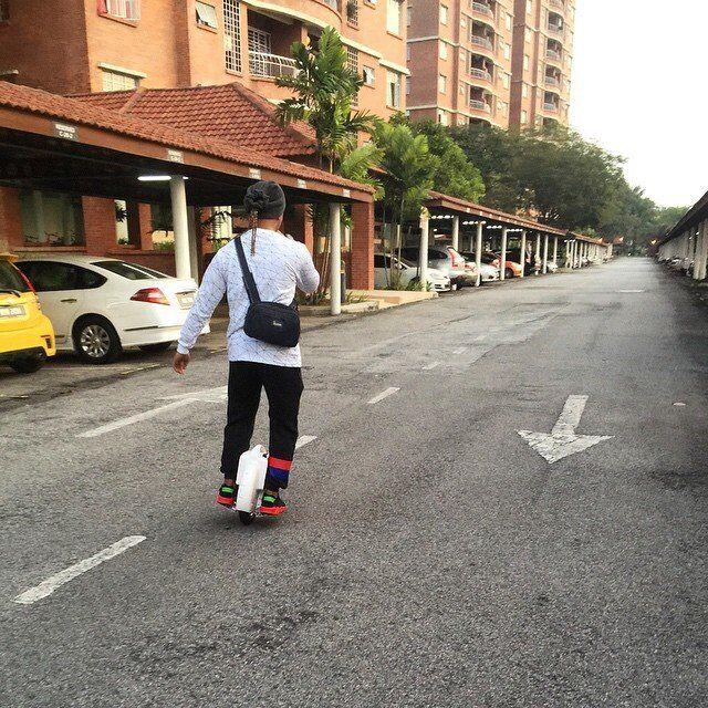 X3 una rueda eléctrico scooter