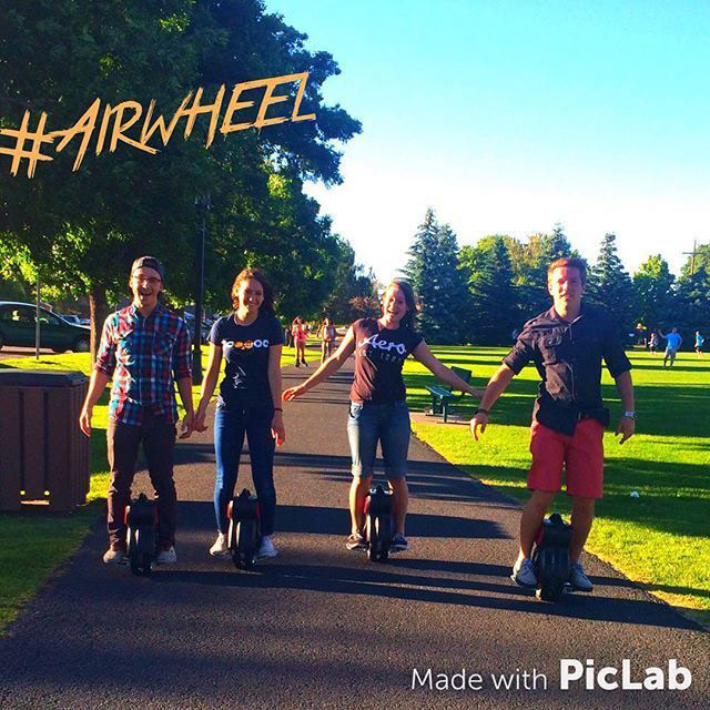 Airwheel 1 wheeled scooter