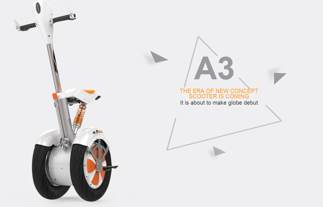 Which One is the Best Choice? Airwheel A3 Intelligent Scooters or the Others?
