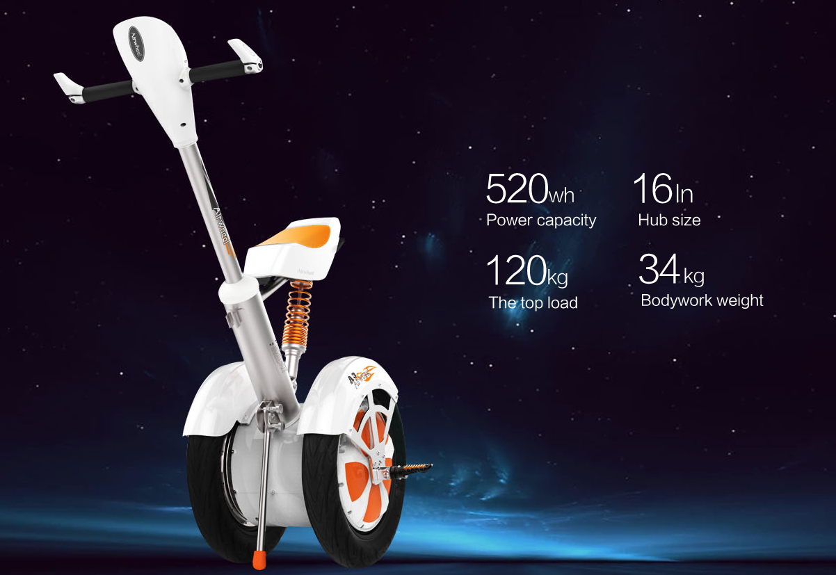Airwheel A3 Intelligent Self-Balancing Scooter Brings the Best Trip to Riders