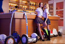 Airwheel Electric Scooter: the Conversation among People, Scooter and City