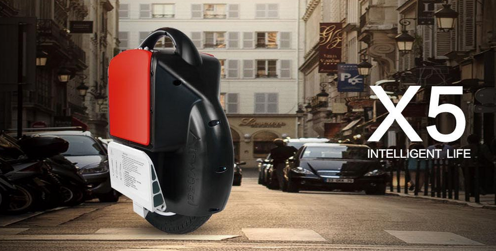 Typical Street Culture—Airwheel Electric Unicycle X5