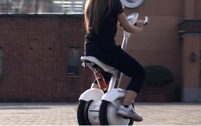 Caring for Parents with an Airwheel Intelligent Self-balancing Scooter