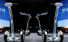 Airwheel got starting the R & D relevant to the two-wheeled structure against the background.
