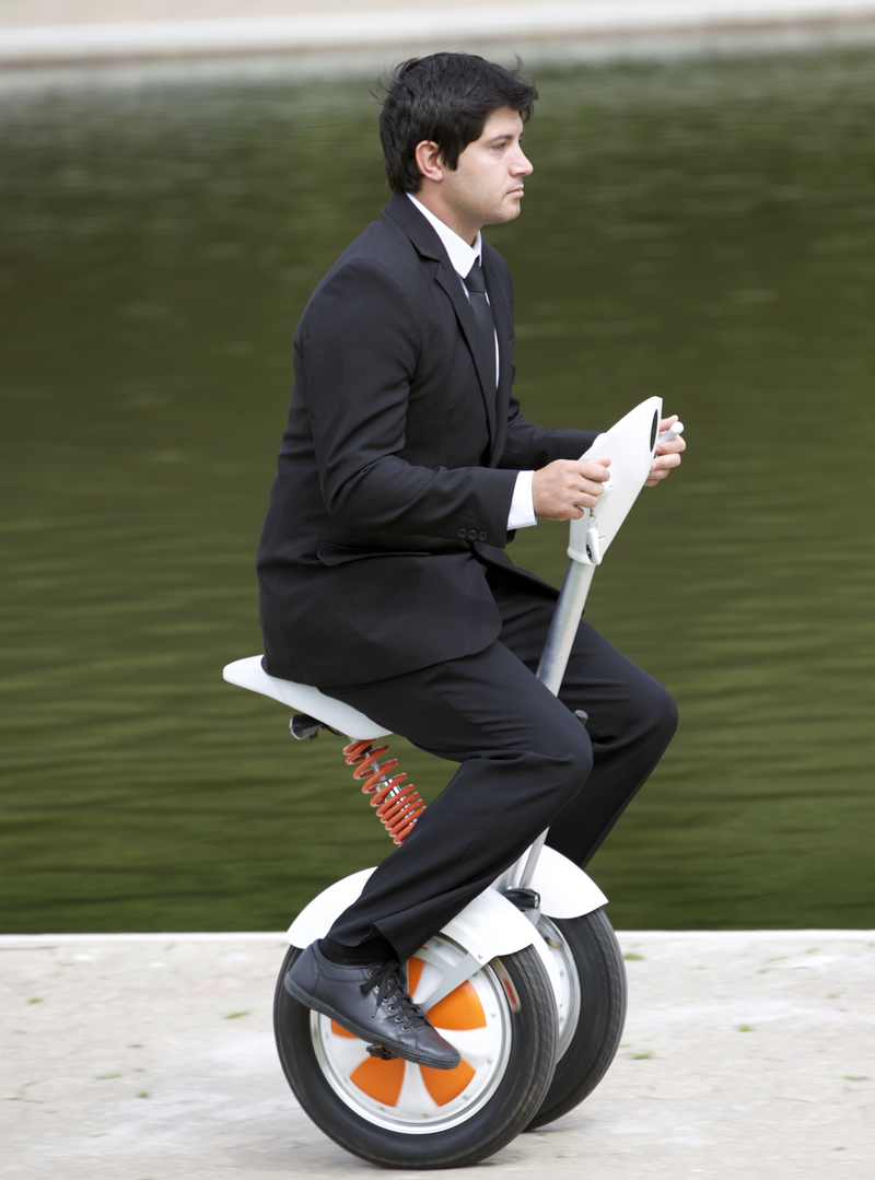 A3 self-balancing scooter with seat