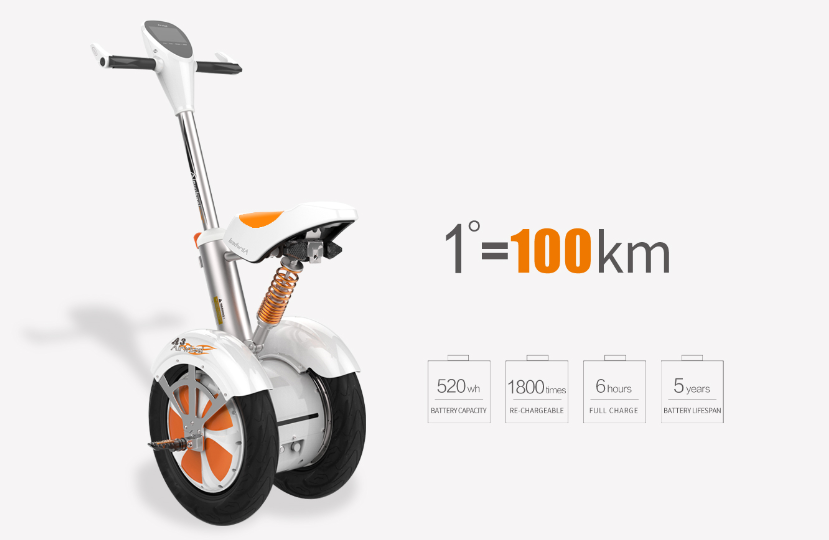 Airwheel Intelligent Self-balancing Scooter Sets a Unique Trend of Commuting