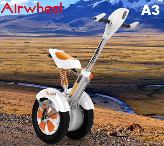 Artificial Intelligence of the Airwheel A3 Sitting-posture 2 wheel electric scooter