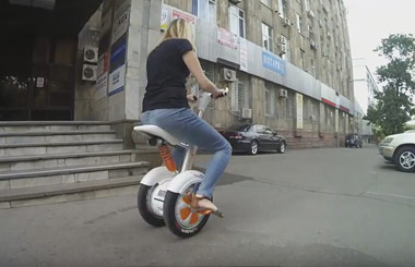 electric tricycle,Airwheel A3,single wheel transport scooter