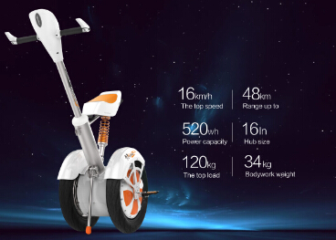 Airwheel Intelligent Scooter A3 Drives Away Fatigue
