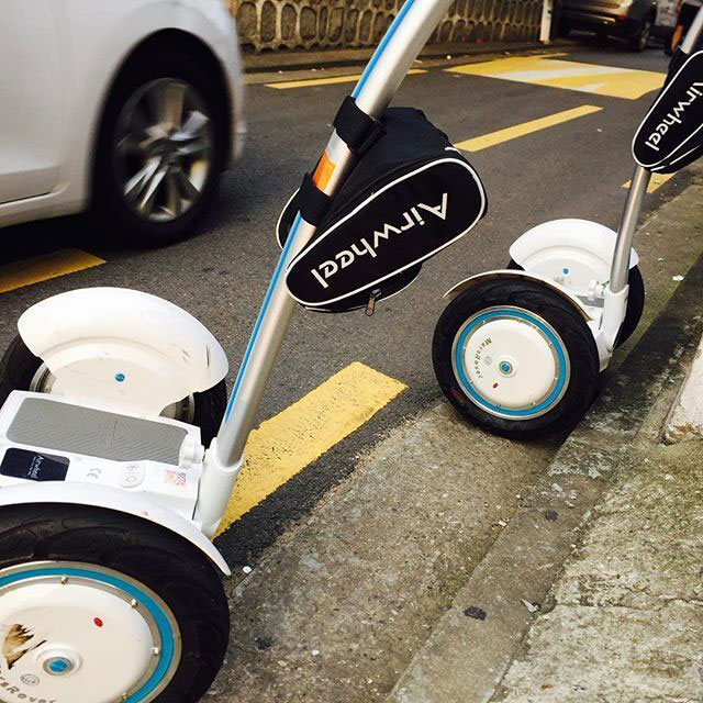 Airwheel S3, self balancing electric scooter
