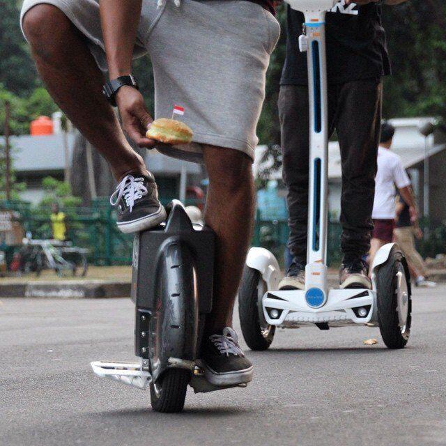 scooter eléctrico una rueda, Airwheel X8