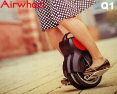 Take Candid Shots with an Airwheel intelligent self-balancing electric scooter