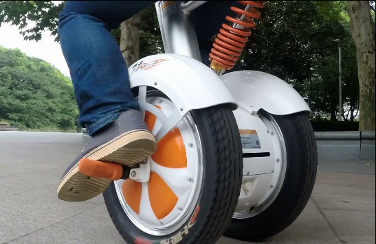 airwheel two-wheel sitting-posture scooter