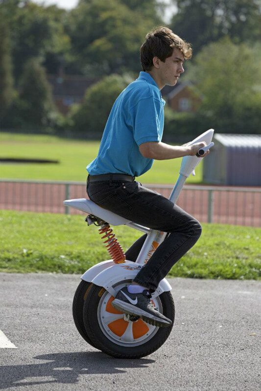 Airwheel A3, two wheel self-balancing electric scooter