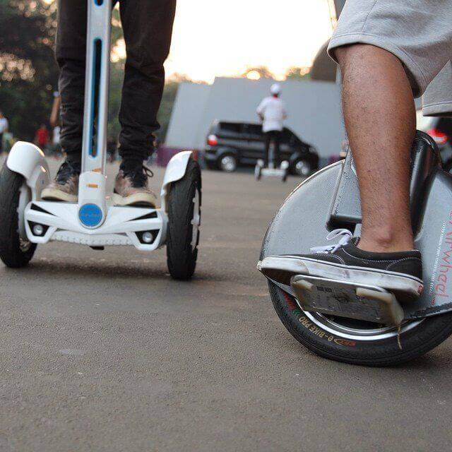 Airwheel S3, electric self-balancing unicycle