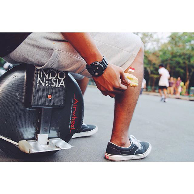 Airwheel X8, one wheel electric unicycle