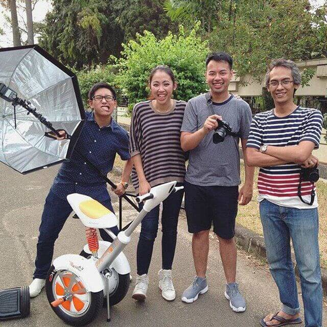 Airwheel A3, scooter monocycle