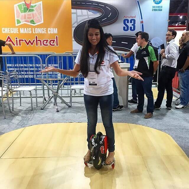 Airwheel X3, rueda electrica