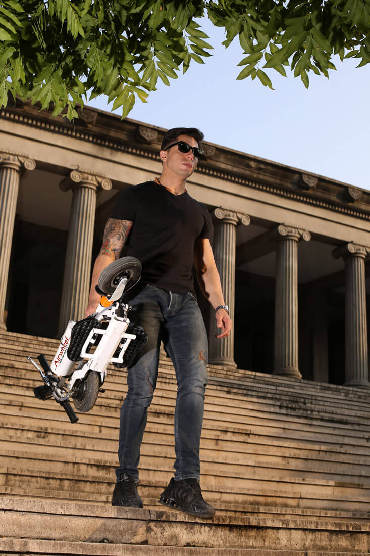 Airwheel Z3 inteligente auto-equilíbrio scooter