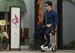 No matter what your job is, Airwheel Z3 2-wheeled electric scooter is hard to beat.