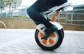 But, Airwheel sitting posture self-balancing scooter A3 stands out for its unique style and hi-tech essence.