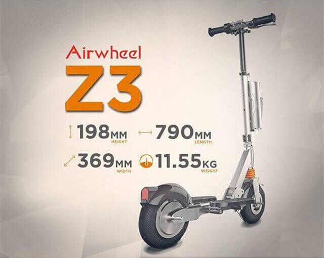 Z3 2-колесный электрический одноколесном велосипеде