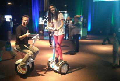 sports shoes b6e19 07308 One of the Must-have Presents this Christmas—Airwheel A3 Saddle-equipped  Scooter