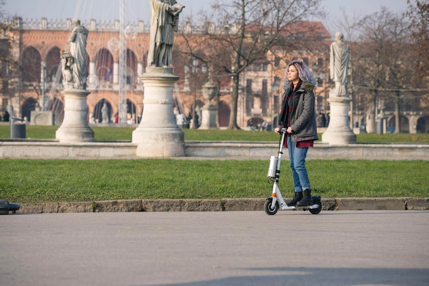 Z3 scooter airwheel