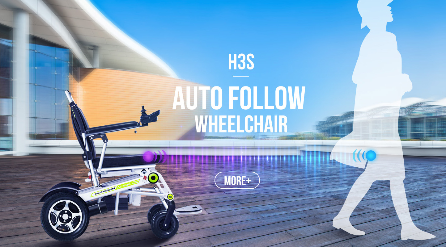 Airwheel H3S power and manual wheelchairs