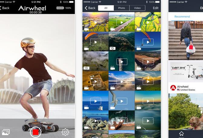 Airwheel Mobile App