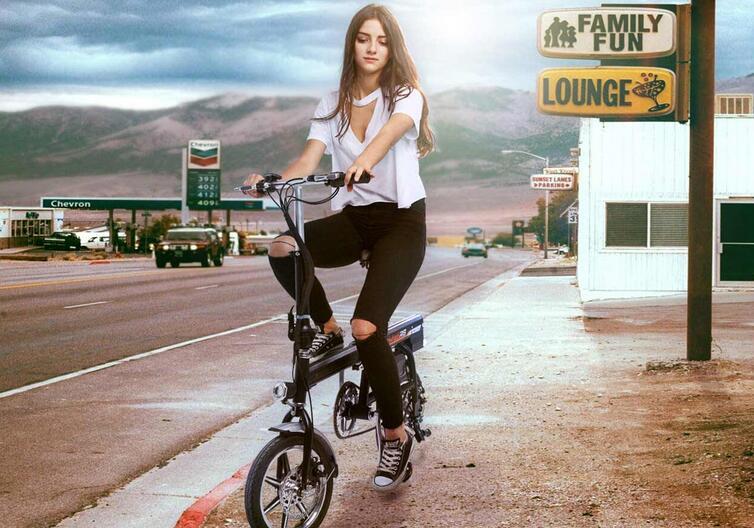Airwheel R6 Electric Folding Bike
