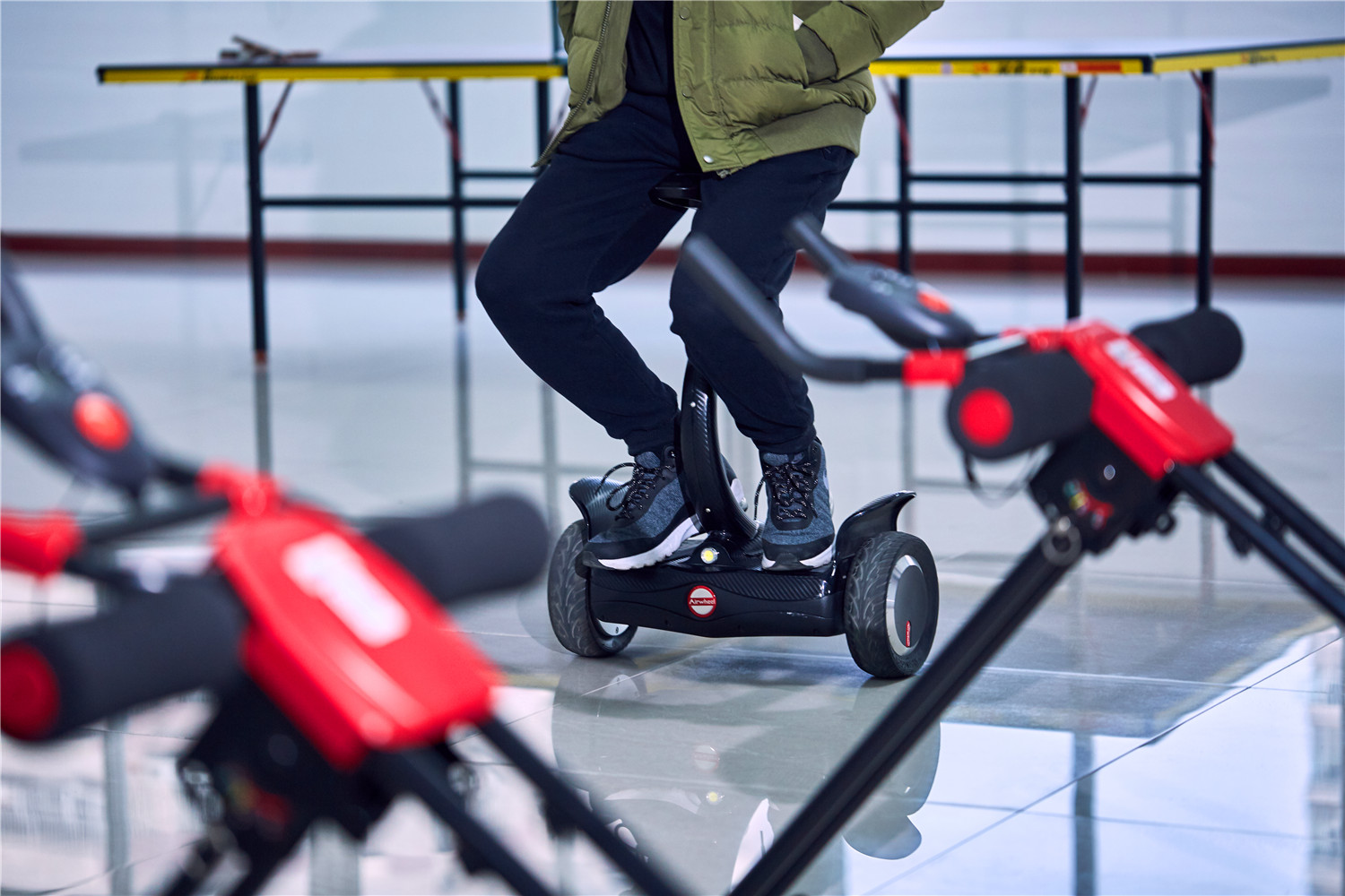 Airwheel S8 robot self-balancing scooter