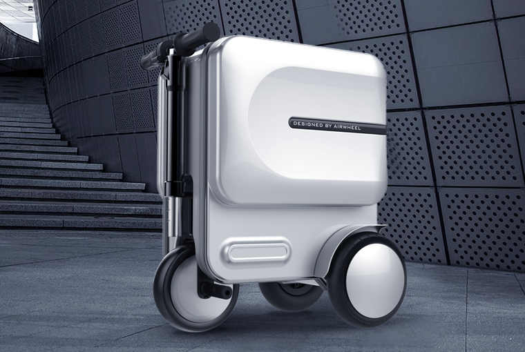 Airwheel SE3 rideable carry-on luggage