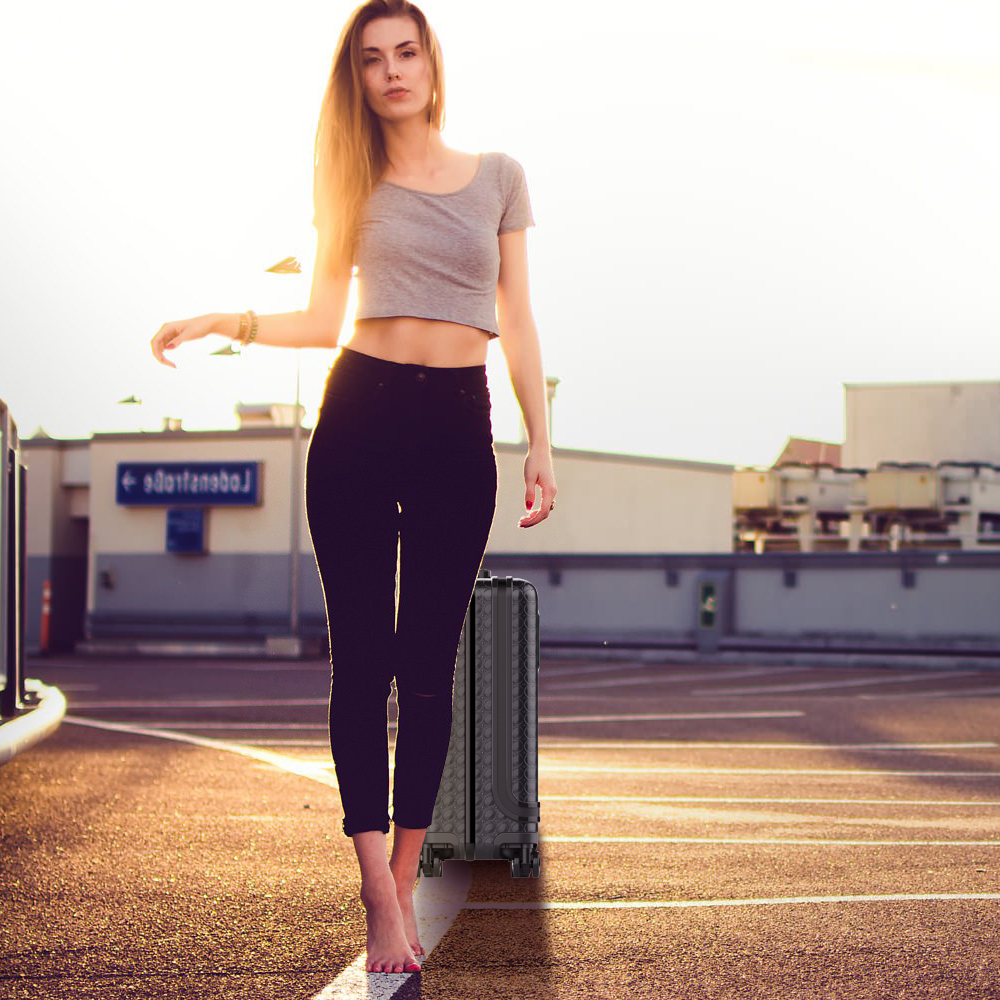 Airwheel SR5 intelligent auto-following suitcase