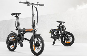 Airwheel folding assist bike