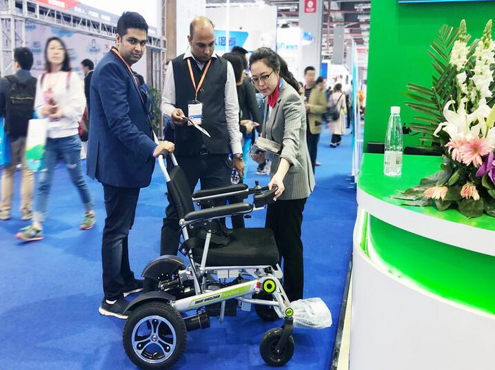 Airwheel intelligent wheelchair