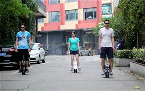 Airwheel Q1 one-wheeled scooter