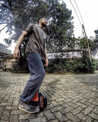 Airwheel X3 self-balancing scooter