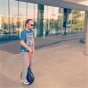 Airwheek Mario enjoying his new Airwheel x8 :) - TopWheels