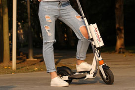 single wheel balance scooter